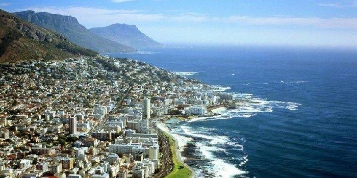 Кейптаун — красивейший город Южной Африки
