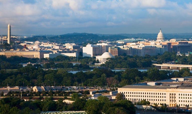 Вашингтон — центр политической жизни США