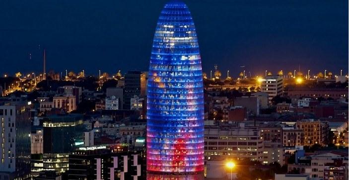 фото барселона, Башня Агбар, torre agbar