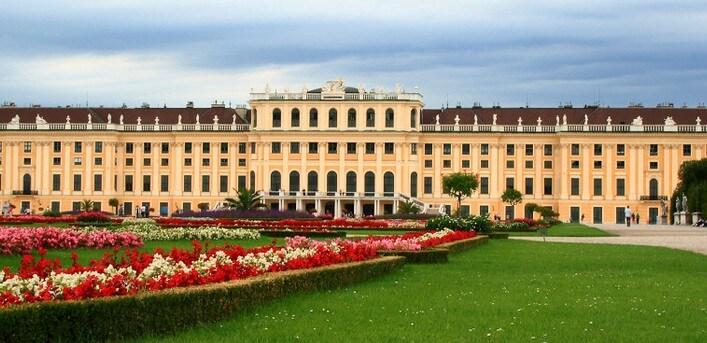 австрия достопримечательности фото, дворец шенбрунн фото, австрия вена