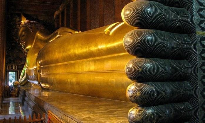 Храм Лежащего Будды, ват пхо