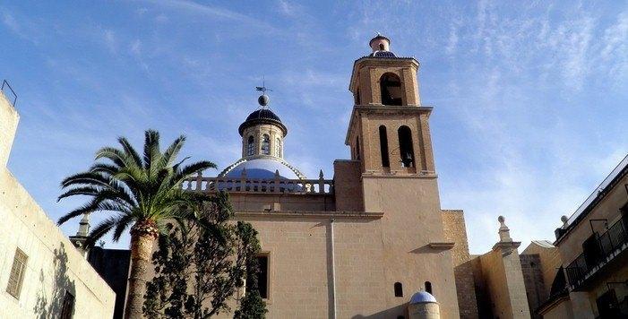 La Catedral San Nicolas de Bari, кафедральный собор святого николая аликанте