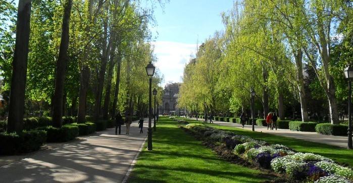 Парк Casa de Campo, каса де кампо мадрид