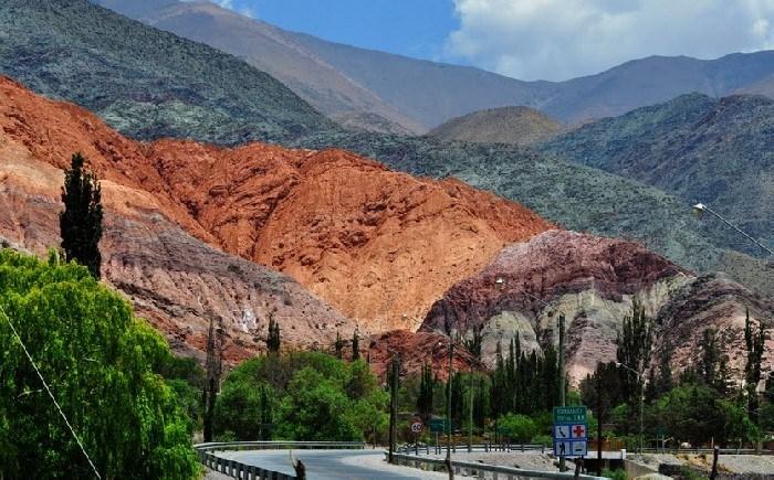 Семицветная гора