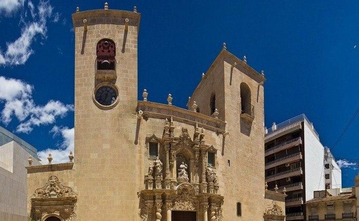 Церковь Iglesia de Santa Maria, церковь иглесия-де-санта-мария аликанте