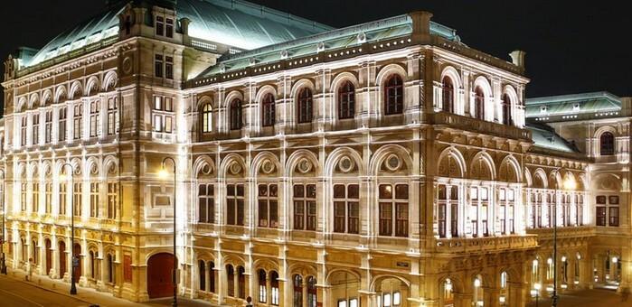 венская опера, достопримечательности вены фотографии, вена фото австрия
