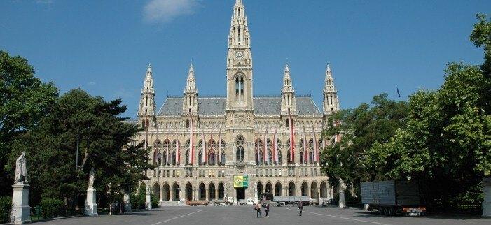 венская ратуша фотографии, вена австрия фото