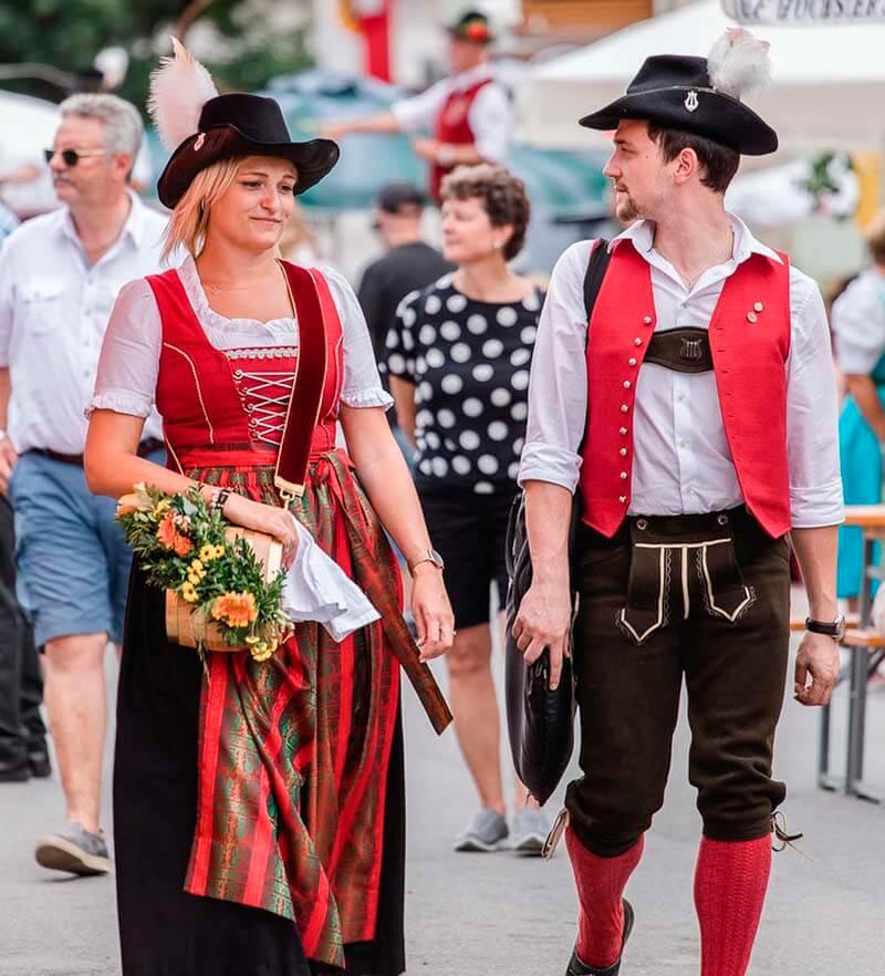 трахт национальный костюм австрии