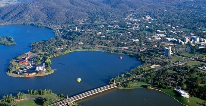 Канберра — зеленая столица Австралии