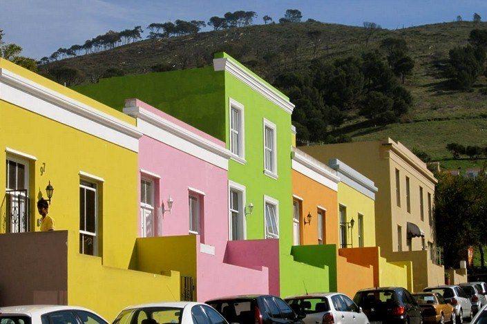 Квартал разноцветных домов Бо-Каап