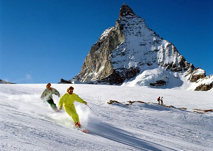 церматт, лыжная трасса