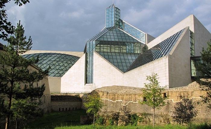 люксембург столица, музей современного искусства в люксембурге