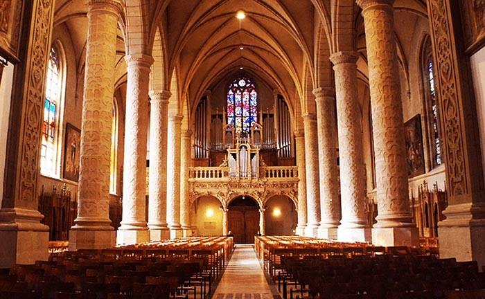 фото люксембург, собор люксембургской богоматери