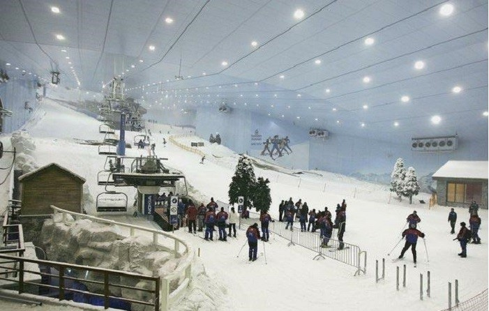 дубаи лыжный курорт
