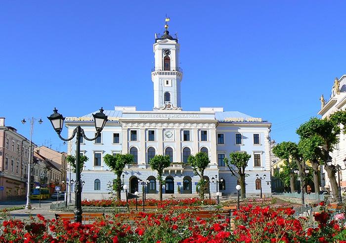 Черновцы ратуша