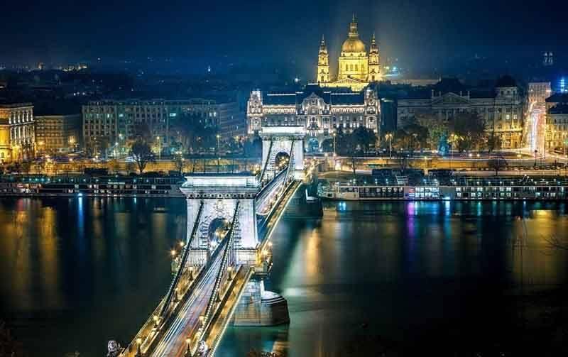 будапешт - мост сечени
