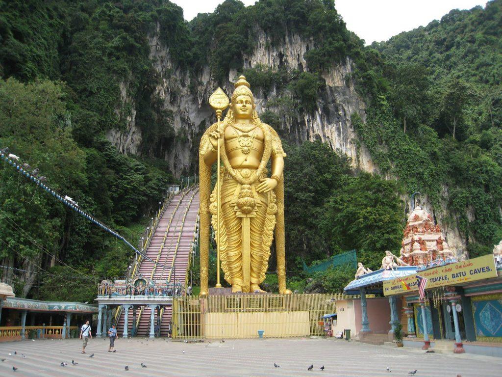 пещеры бату куала лумпур