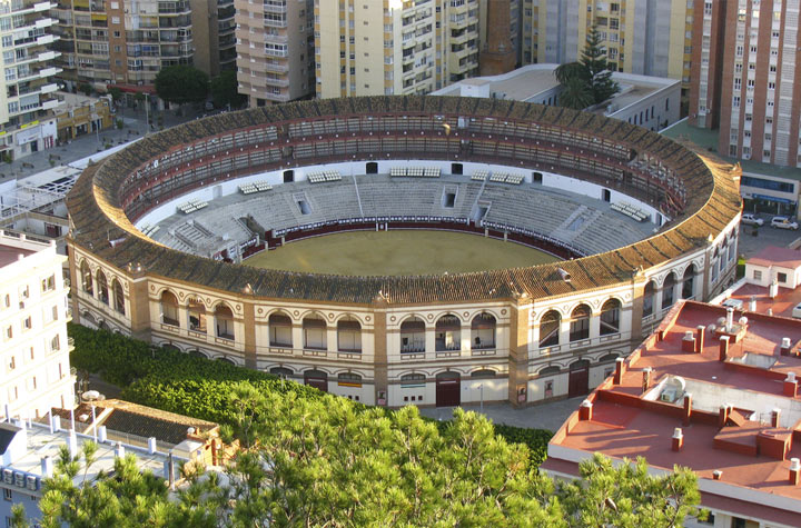 арена в малаге Ла-Малагета