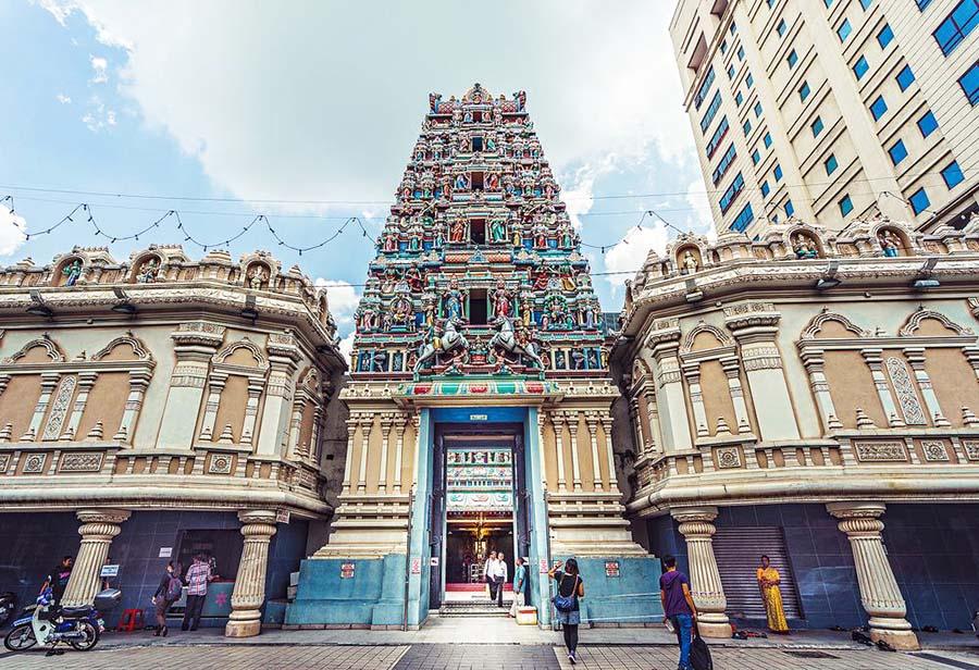 куала лумпур храм шри махамариамман