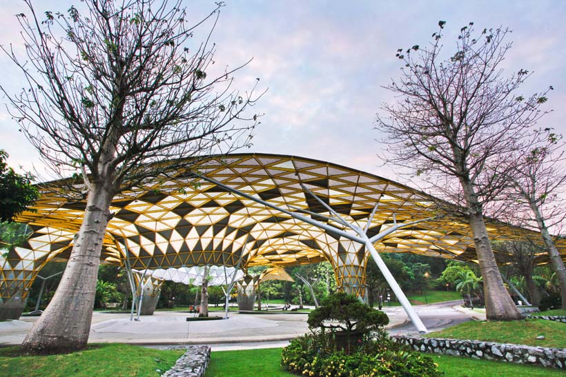 ботанический сад куала лумпур