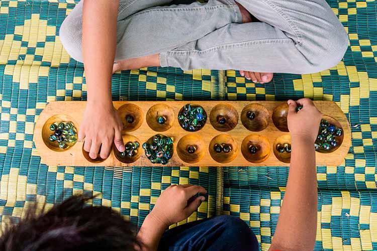 чонгкак настольные игры малайзия