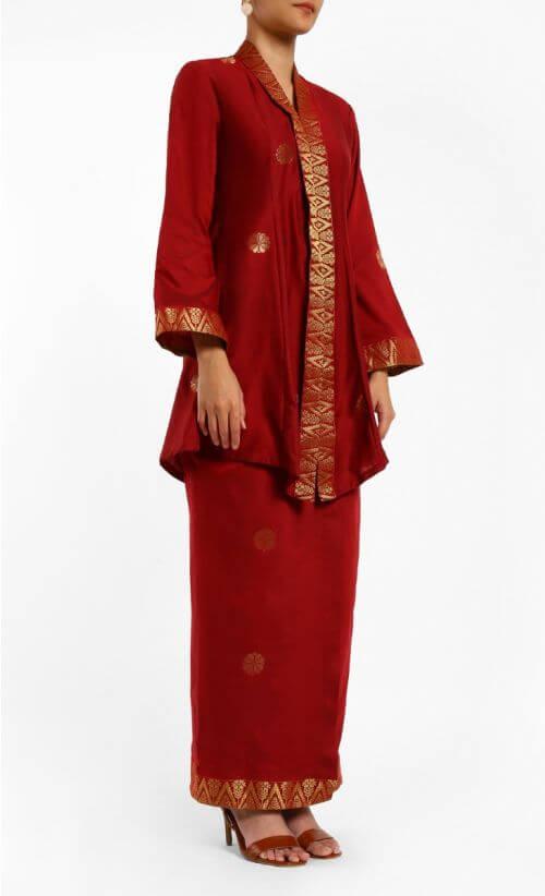 малайзия национальная одежда байю кебайя