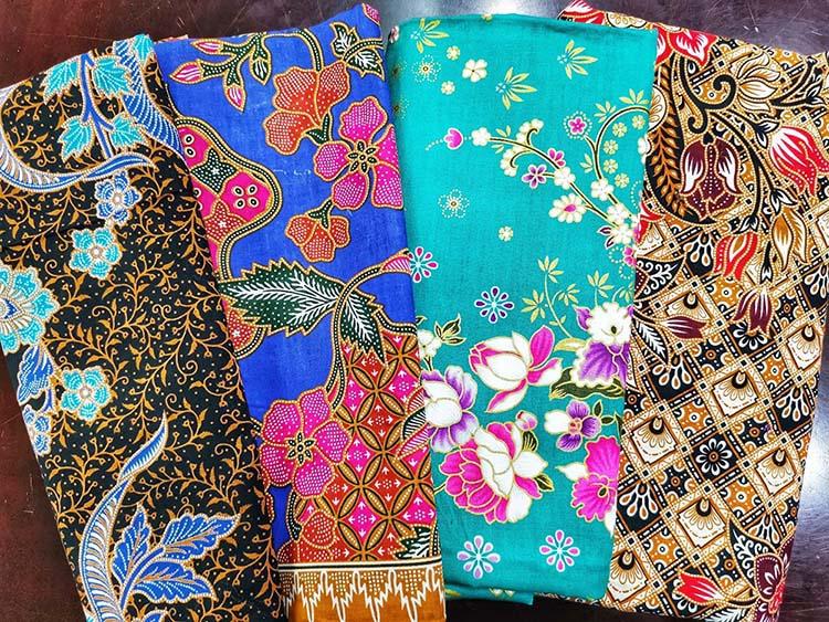 ткань батик малайзия