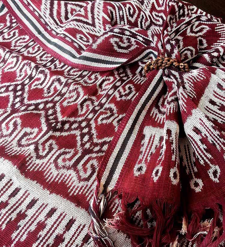 ткань пуа кумбу малайзия